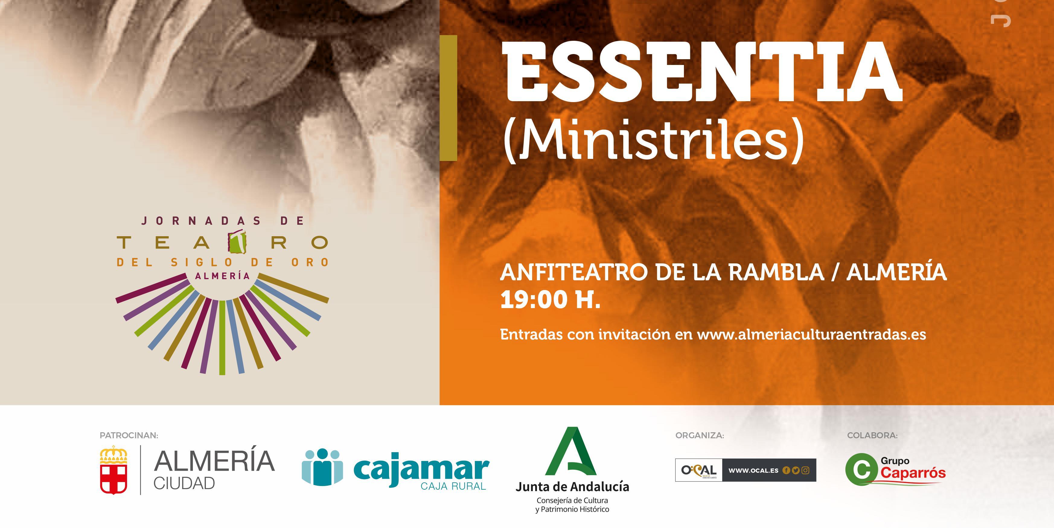 Almeria Jornadas Teatro de Oro